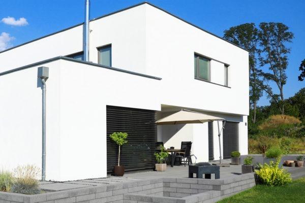 04_Modernes Haus mit Flachdach