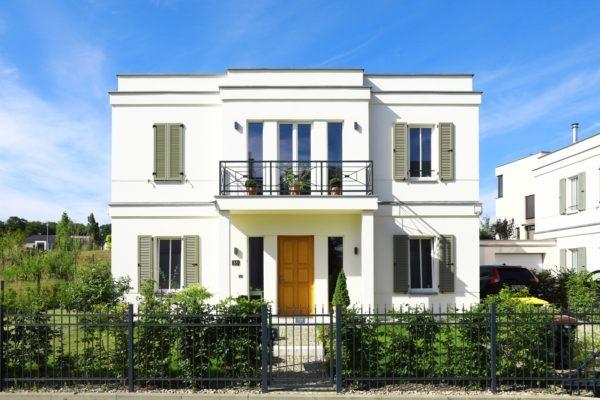 07_Einfamilienhaus - symmetrsiche Fassadengestaltung