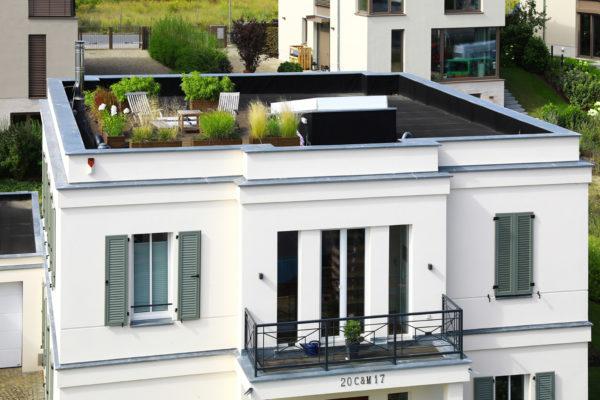 09_ Einfamilienhaus mit Dachterrassennutzung