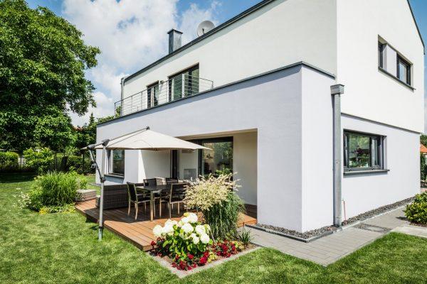 Baukonzept Potsdam Bildergalerie Modernes Haus mit Dachterrasse