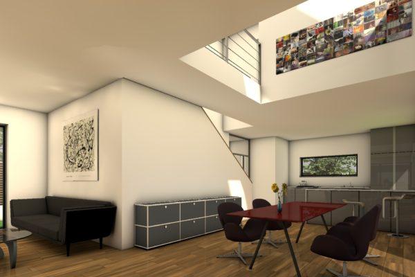 Das Kompakte Eigenheim Perspektive Innen 2